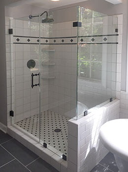 Brown's Glass Shop Residential Shower Enclosure