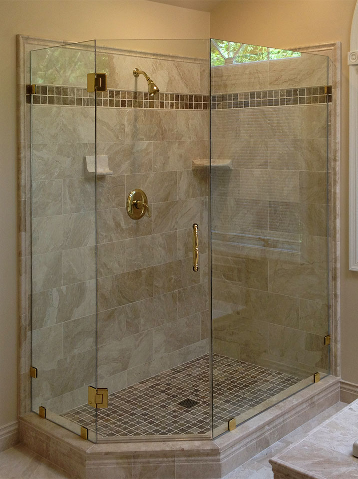 Glass Shower Enclosures - Brown\'s Glass Shop, serving northern Virginia
