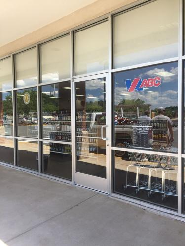 Commercial ABC Glass Storefront - after