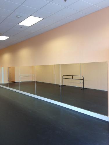Commercial Dance School Mirrors